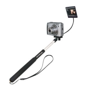 Polaroid Camera Extender Self Portrait Handheld Monopod With Mirror, Extends to 37