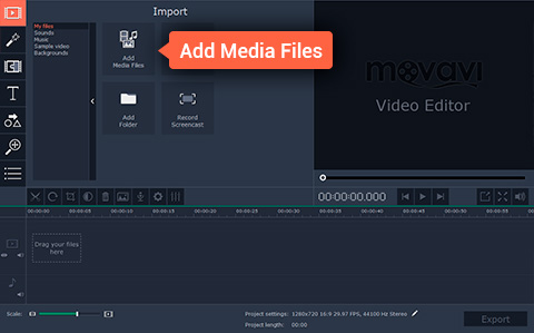 Add Your Video File